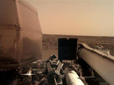 A First: NASA Lander Reveals Mars Interiors