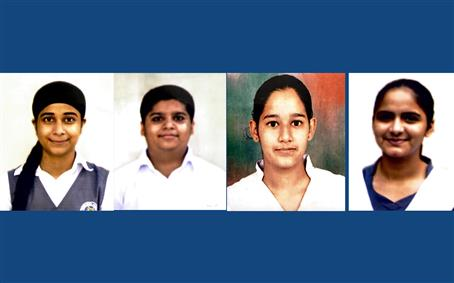 SIS PS Mohali students excel in CBSE class XII Boards