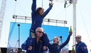 B'naire Branson Reaches Space In His Own Ship