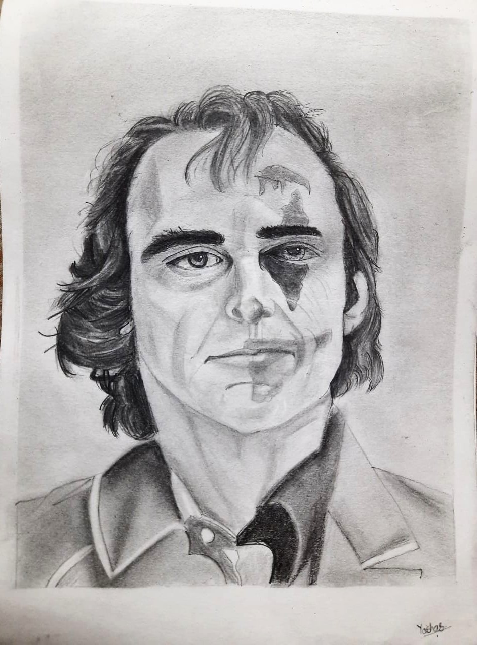Yashas's Sketch Of Joker