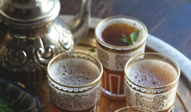 Moroccan Mint Tea For Rainy Days