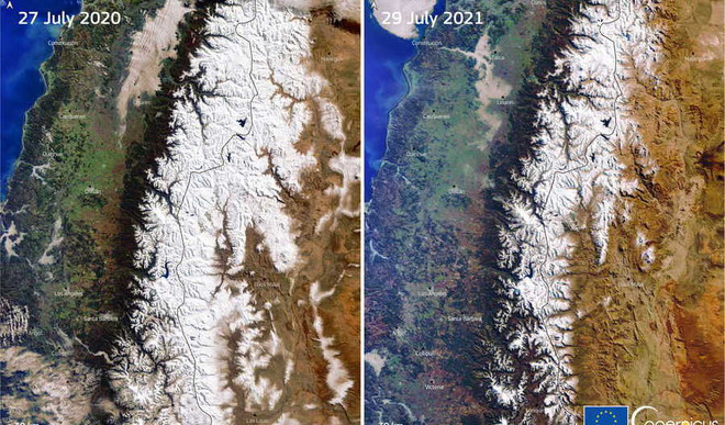 Mega-Drought' In Andes From Climate Change
