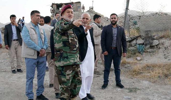 Prez Ashraf Ghani, Aides Leave Afghanistan
