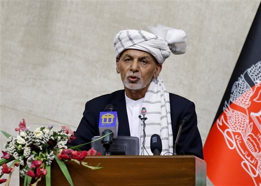 Ashraf Ghani In Oman To Escape To US