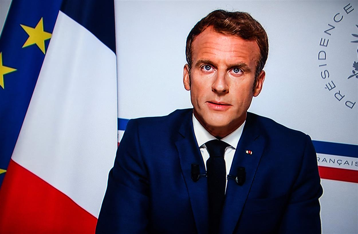 Macron: Afghanistan Can't Be Terror Haven