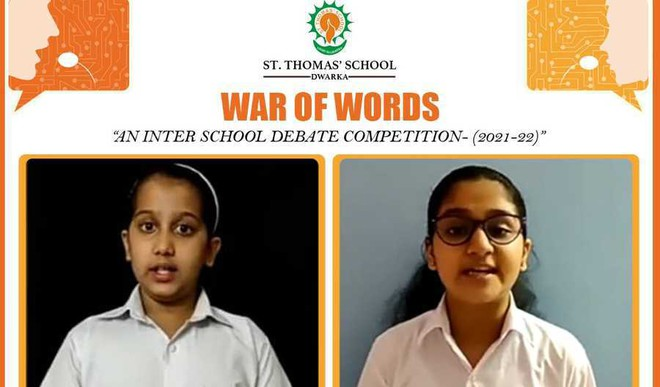Students indulge in 'War of Words' at St. Thomas