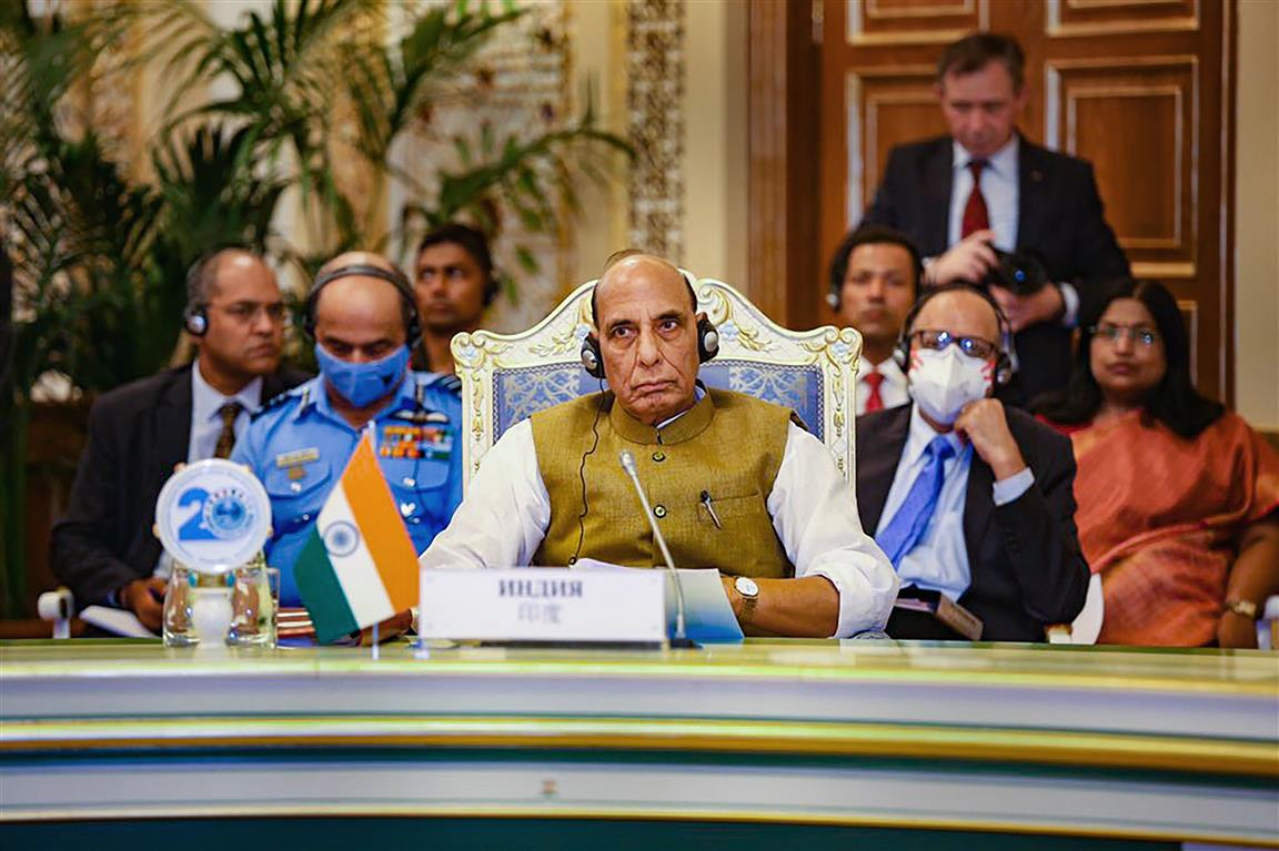 Changes In Afghanistan A Challenge: Rajnath