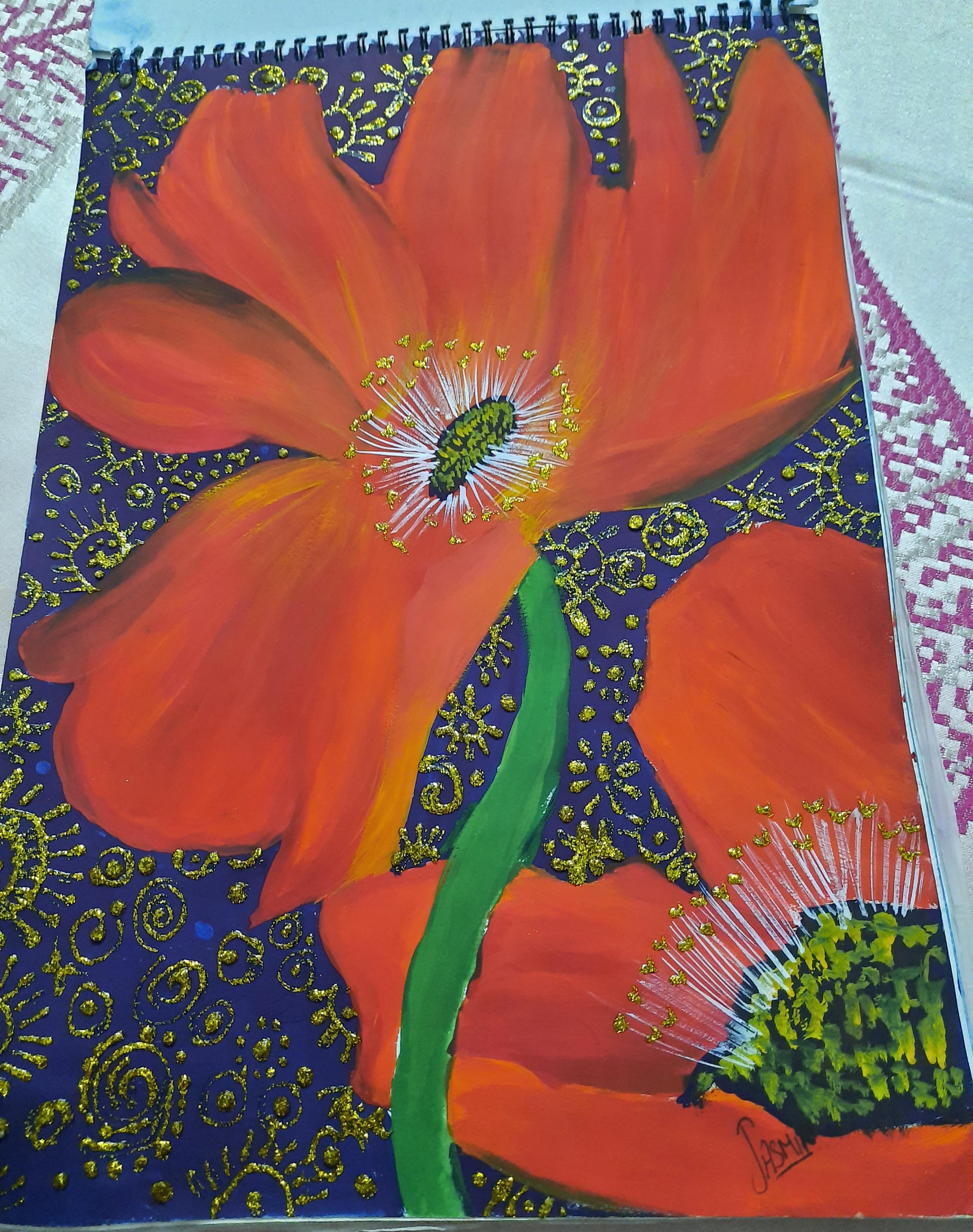 Jasmin's Flower Painting