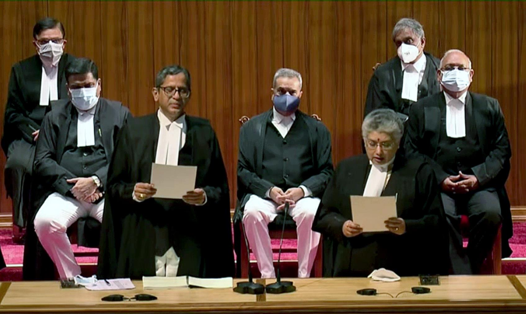 As 9 Judges Took Oath...