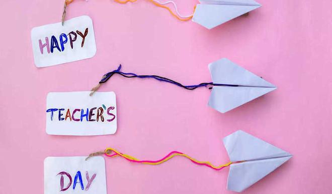 Shreeverdhani's Speech For Teachers Day