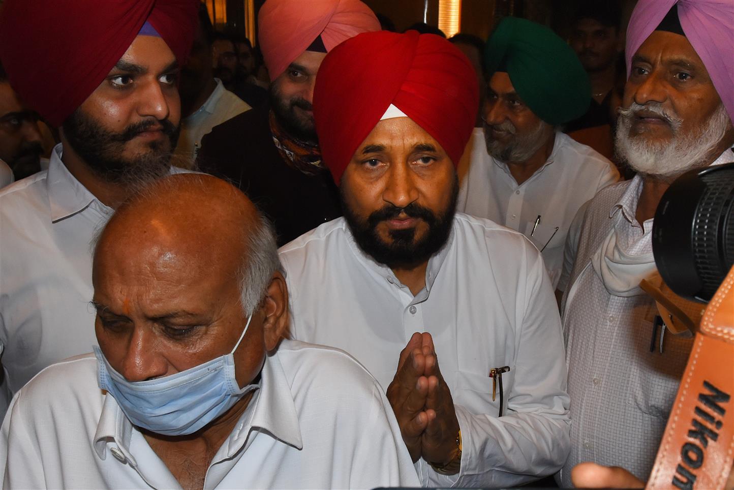 Charanjt Singh Channi Is New Punjab CM
