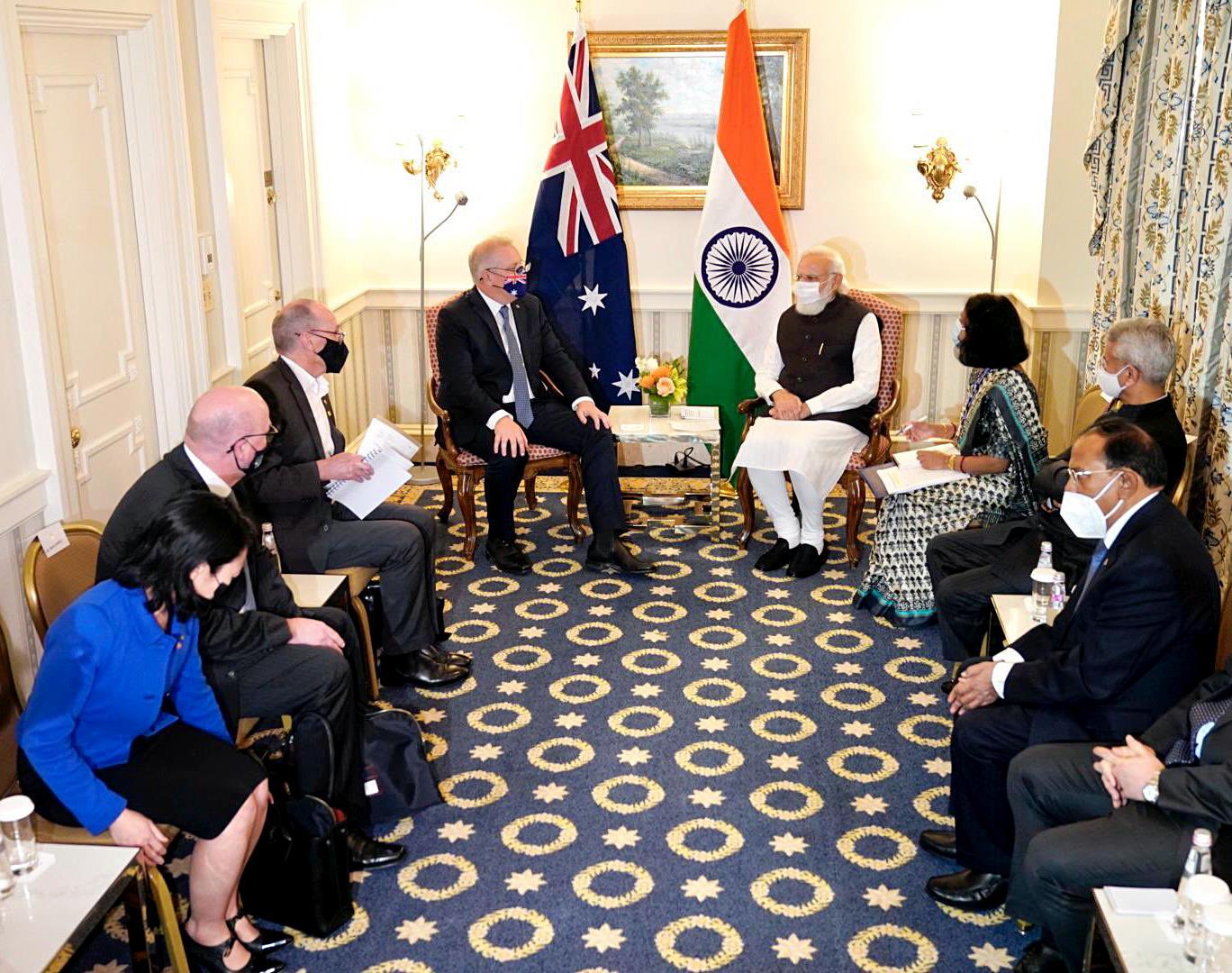 Quad: Modi Meets Morrison