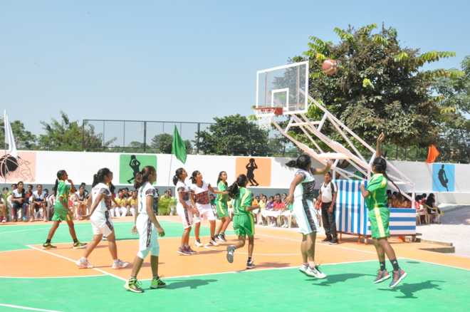 dps ranchi wins opening league match at girls� basketball